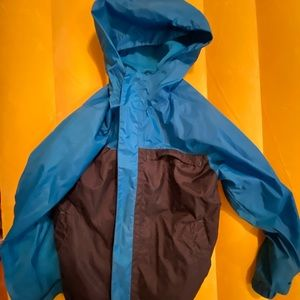 Boys light weight jacket with hood